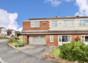 Thumbnail 5 bed semi-detached house for sale in Golftyn Drive, Connah'S Quay