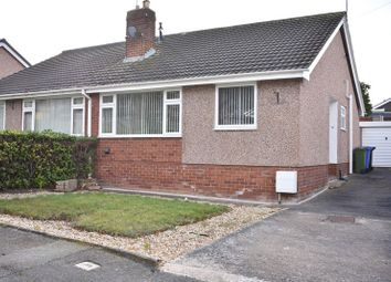 Thumbnail 2 bed semi-detached bungalow to rent in Maes Meurig, Prestatyn
