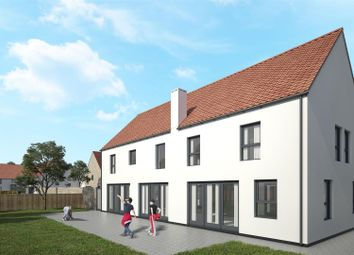 Thumbnail 4 bed detached house for sale in Brigg Road, North Kelsey, Market Rasen