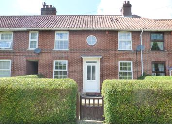 Thumbnail 3 bed terraced house for sale in Losinga Crescent, Norwich