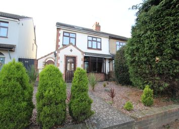 Thumbnail 4 bed semi-detached house for sale in Brandon Road, Binley, Coventry