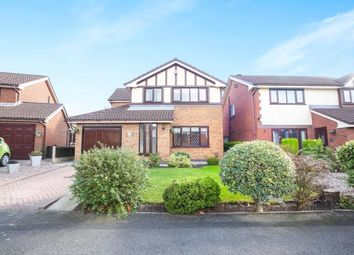Thumbnail 4 bed detached house for sale in Pine Street, Woodley, Stockport, Cheshire