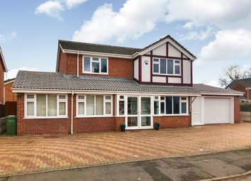 Thumbnail 6 bed detached house for sale in Cooper Gardens, Oadby, Leicester
