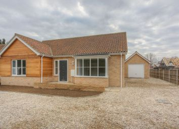 Thumbnail 2 bed detached bungalow for sale in Fieldside, Stretham, Ely