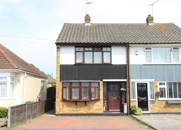 Thumbnail 3 bed semi-detached house for sale in Benvenue Avenue, Eastwood, Leigh-On-Sea