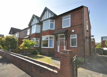 Thumbnail 4 bed semi-detached house for sale in Alstone Road, Heaton Chapel, Stockport, Greater Manchester