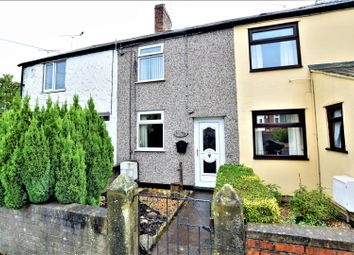 Thumbnail 2 bed terraced house for sale in County Road, Mold