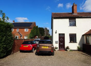 Thumbnail 2 bedroom semi-detached house for sale in New North Road, Attleborough