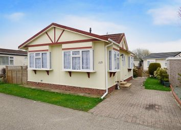 Thumbnail 2 bed mobile/park home for sale in Climping Park, Bognor Road, Littlehampton