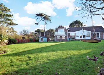 Thumbnail 4 bed bungalow for sale in Cliff Road, Totland Bay, Isle Of Wight