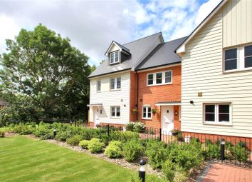 Thumbnail End terrace house for sale in Ashlin Quarter, Station Road, Aylesford, Kent