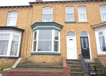 Thumbnail 2 bed terraced house for sale in Franklin Street, Scarborough, North Yorkshire