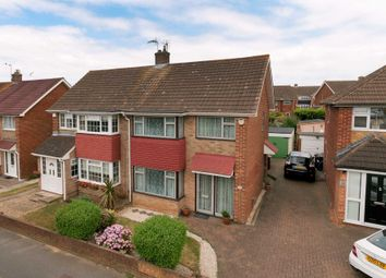 Thumbnail 3 bed semi-detached house for sale in Windhover Way, Gravesend