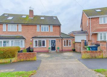 Thumbnail 3 bed semi-detached house for sale in Hampden Crescent, Cheshunt, Waltham Cross
