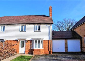 Thumbnail 3 bed semi-detached house for sale in Hollow Trees Close, Leigh