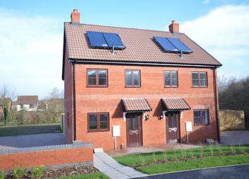 Thumbnail 2 bed terraced house for sale in Cullompton