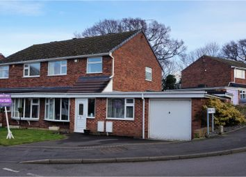 Thumbnail 3 bedroom semi-detached house for sale in Pemberton Road, Admaston Telford