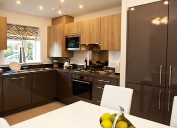 "Thumbnail 3 bed town house for sale in ""The Tiverton"" at Leek Road, Hanley, Stoke-On-Trent"