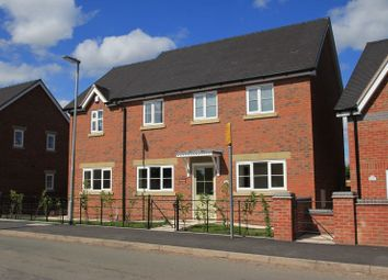 Thumbnail 4 bed property for sale in Green Farm Paddocks, Seighford, Stafford