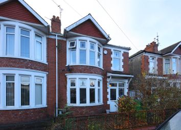 Thumbnail 3 bed semi-detached house for sale in Birchfield Crescent, Victoria Park, Cardiff