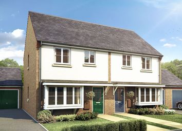 Thumbnail 3 bedroom semi-detached house for sale in The Winthorpe, Livingstone Road (Off Lyveden Way), Oakley Vale, Corby, Northamptonshire