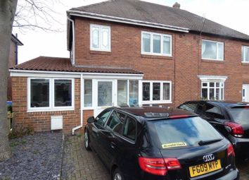 Thumbnail 4 bed semi-detached house for sale in Western Avenue, Seaton Delaval, Whitley Bay