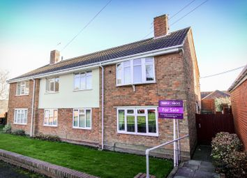 Thumbnail 2 bed flat for sale in Clare Crescent, Woodcross, Bilston