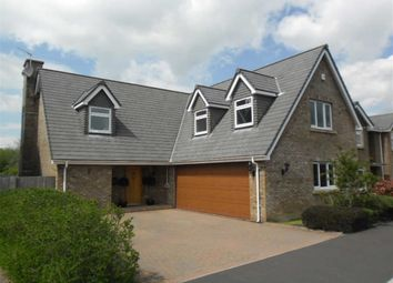 Thumbnail 4 bedroom detached house for sale in Broadwood, Swansea
