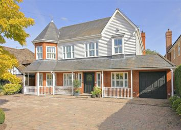 Thumbnail 6 bed detached house for sale in Barham Avenue, Elstree, Borehamwood, Hertfordshire