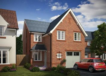 Thumbnail 4 bed detached house for sale in St John's Gardens, Tyldelsey, Manchester