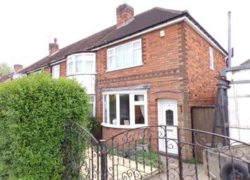 Thumbnail 2 bed end terrace house for sale in Abbey Rise, Leicester, Leicestershire, England