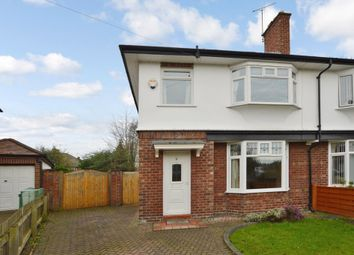 Thumbnail 4 bed semi-detached house to rent in Knowsley Road, Hoole, Chester