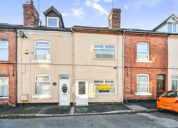 Thumbnail 2 bed terraced house for sale in Talbot Street, Pinxton, Nottingham, Nottinghamshire