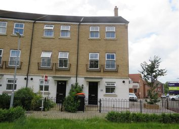 Thumbnail 4 bedroom town house for sale in Alabaster Avenue, Houghton Regis, Dunstable