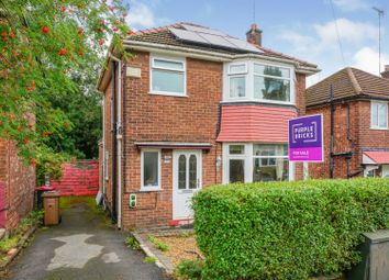 Thumbnail 3 bed detached house for sale in Broomhall Road, Manchester