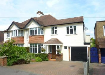 Thumbnail 4 bed semi-detached house for sale in Castleton Drive, Banstead