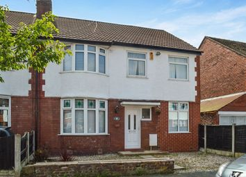 Thumbnail 4 bedroom semi-detached house to rent in Hurdsfield Road, Great Moor, Stockport