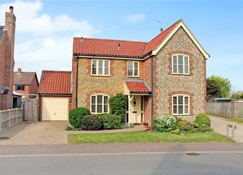Thumbnail 4 bed detached house for sale in Walpole Way, Freethorpe, Norwich, Norfolk