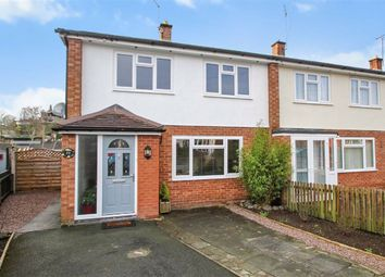 Thumbnail 3 bed end terrace house for sale in Langland Road, Oswestry