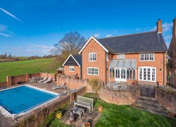 Thumbnail 4 bed detached house for sale in Bures Road, Nayland, Colchester