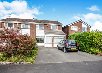 Thumbnail 3 bed semi-detached house for sale in Fulmar Drive, Stockport, Greater Manchester