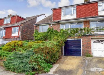 Thumbnail 3 bed semi-detached house for sale in Highbank, Brighton, East Sussex