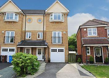 Thumbnail 4 bedroom terraced house for sale in Elvaston Park, Kingswood, Hull