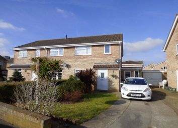 Thumbnail 4 bed semi-detached house for sale in Copperfield Drive, Worle, Weston-Super-Mare