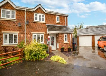 Thumbnail 3 bed semi-detached house for sale in Lakeside Close, Nantyglo, Ebbw Vale, Blaenau Gwent
