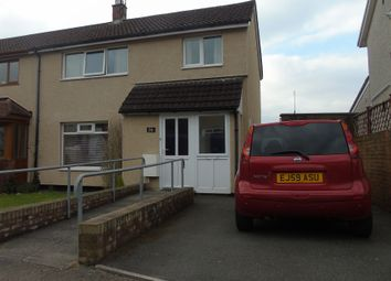 Thumbnail 3 bed semi-detached house for sale in Liswerry Drive, Llanyravon, Cwmbran