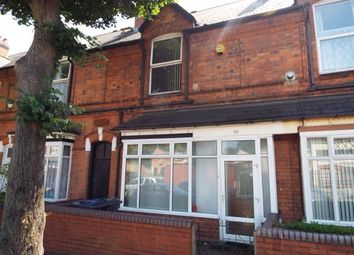 Thumbnail 3 bedroom terraced house for sale in Hutton Road, Handsworth, Birmingham, West Midlands