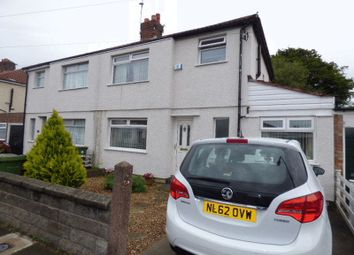 Thumbnail 3 bed semi-detached house for sale in Stanley Road, Maghull, Liverpool