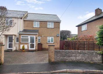 Thumbnail 2 bed semi-detached house to rent in Uplands, Tavistock, Devon