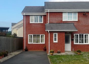 Thumbnail 3 bed semi-detached house to rent in Glan Rheidol, Aberystwyth